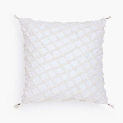 Funda Cojin algodón Royal 60x60 Blanco