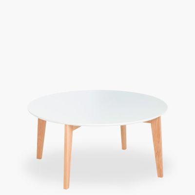 Mesa de centro Abin Blanco