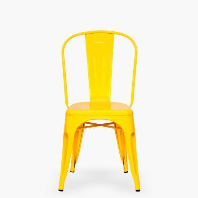 Silla Tolix nueva amarillo