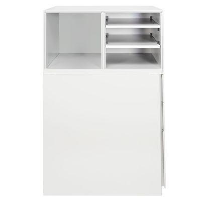 Gabinete Medio Metalico 39x60x110 DER