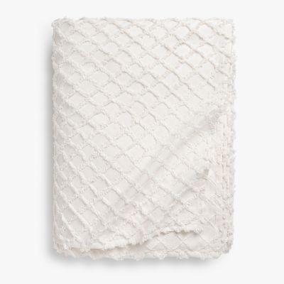 Colcha Algodón Royal 270x280 Blanco